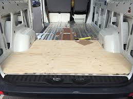self build motorhome conversion of our volkswagen crafter