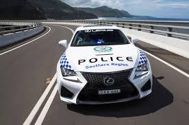 lexus performance coupe lexus rc f nsw police coupe joins australian police vehicle fleet