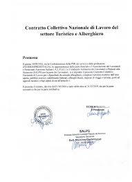 contratto nazionale estetiste 2015 contratto collettivo nazionale di lavoro del settore turistico e