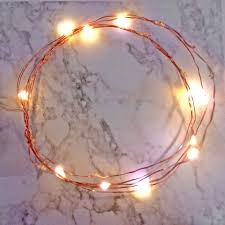 string lights with battery pack 36 led copper or silver wire string light with built in timer