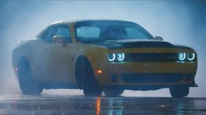 what s the new volvo commercial about watch rhys millen drift the dodge challenger demon through