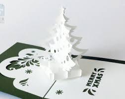 printable christmas pop up card templates papercut template pop up card castle instant download svg