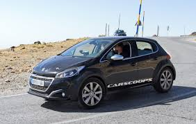 peugeot 4 by 4 peugeot u0027s 1008 baby suv hiding under a 208 body is one cool mule