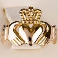 galway ring gold claddagh ring