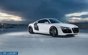 Audi R8 Matte Black - audi r8 verona xo luxury wheels