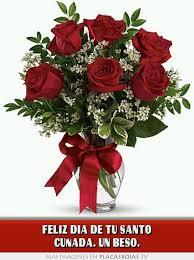 imagenes feliz dia del beso feliz dia de tu santo cuñada un beso placas rojas tv