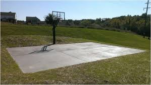 Outdoor Basketball Court Cost Estimate by Backyards Splendid 19 Cheap Backyard Basketball Court Ideas