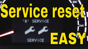 mercedes s430 s500 s55 amg service a b c f reset service interval