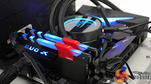 evo geil evo x 16gb ddr4 3000mhz review rgb lighting kitguru