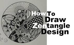 play doodle draw how to draw complex zentangle design for beginners easy