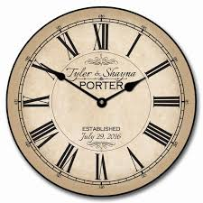 Small Bathroom Clock - 29 best wedding clocks images on pinterest clocks anniversary