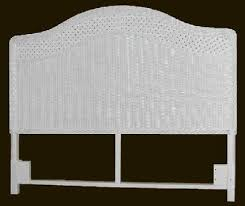 wicker headboard twin queen king wicker headboards