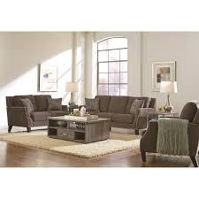 Chenille Sofa by Coaster Furniture 504711 Hardin Chenille Sofa In Graphite