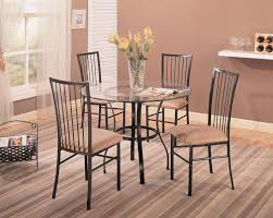 metal frame table and chairs coffee table iron glamourouschen table sets glass dining room