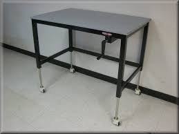 4 foot adjustable height table lift tables at rdm adjustable tables a107p