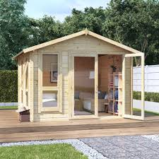 small log cabins garden buildings direct