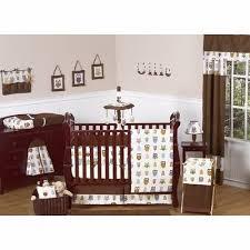 sweet jojo designs night owl 9 piece crib bedding set u0026 reviews