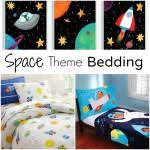 Space Themed Bedding Rainbow Bedding Sets