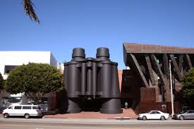 10 frank gehry buildings to see in l a the getty iris binoculars building originally chiat day building completed 1991
