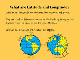 World Map With Longitude And Latitude Lines by Continents And Oceans