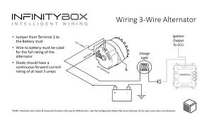 one wire alternator wiring diagram ford ford schematics and