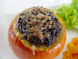 cuisiner la citrouille gourmande ou passionnée courge be farcie au boudin