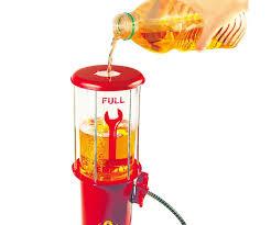 pompe a essence deco distributeur fontaine à boissons décor pompe a essence vintage usa
