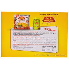 Garlic Bread In Toaster Khushi U0027s Garlic Ginger Mix Magic 50gm Amazon In Grocery