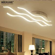Acrylic Ceiling Light Wave Led Ceiling Light Fixture Acrylic White Led Ladario