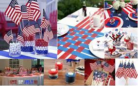 Fourth Of July Table Decoration Ideas Decorations Dishes And Dress For The 4th Of July Chef Vibes