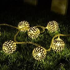 buy shape warm white 20 led string l lights for