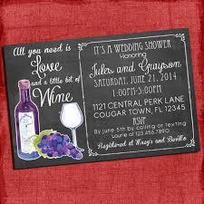 wine themed bridal shower printable wine theme couples coed wedding shower invitation i