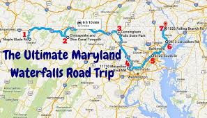 The ultimate maryland waterfalls road trip