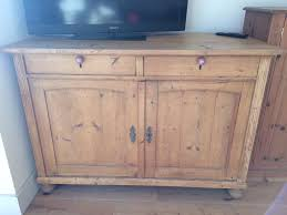 old pine freestanding large kitchen sideboard cupboard in