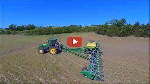 John Deere Planters by Darrin John Deere 24 Row Planter Planting Soybeans In Missouri
