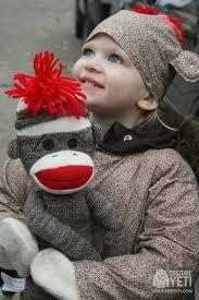 Yeti Halloween Costume Diy Sock Monkey Kids Costume Costume Yeti