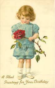 Card For Invitation Or Congratulation With Red Rose In Vintage Best 25 Vintage Birthday Cards Ideas On Pinterest Vintage