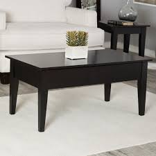 Modern Furniture Table Design Turner Lift Top Coffee Table Black Hayneedle