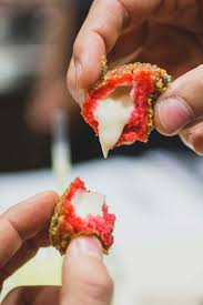 exclusive taco bell testing cap u0027n crunch donut holes stuffed with