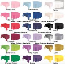 paper table cover with plastic liner plastic tablecloths ebay