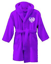 robe de chambre fille 12 ans peignoir violetta sortie de bain 6 à 8 ans violetta