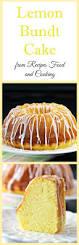 lemon bundt cake bundtbakers recipes food and cooking