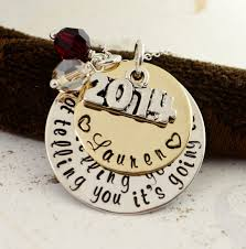 high school class necklaces graduation necklace 2014 personalized graduation gift high