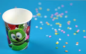 party cups gummibär paper party cups gummibär shop