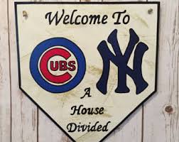 New York Yankees Home Decor by House Divided Yankee Etsy