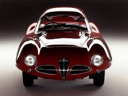 production model alfa romeo disco volante by carrozzeria touring