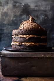 halloween chocolate background forbidden forest chocolate butterbeer cake half baked harvest