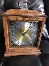 Linden Mantel Clock Vintage Ridgeway Mantel Clock Battery Chime U2022 15 00 Picclick