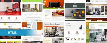 free webpage templates html 19 free interior design and furniture website templates templatemag