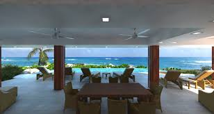 180 degree panoramic ocean views in the new open plan beach house